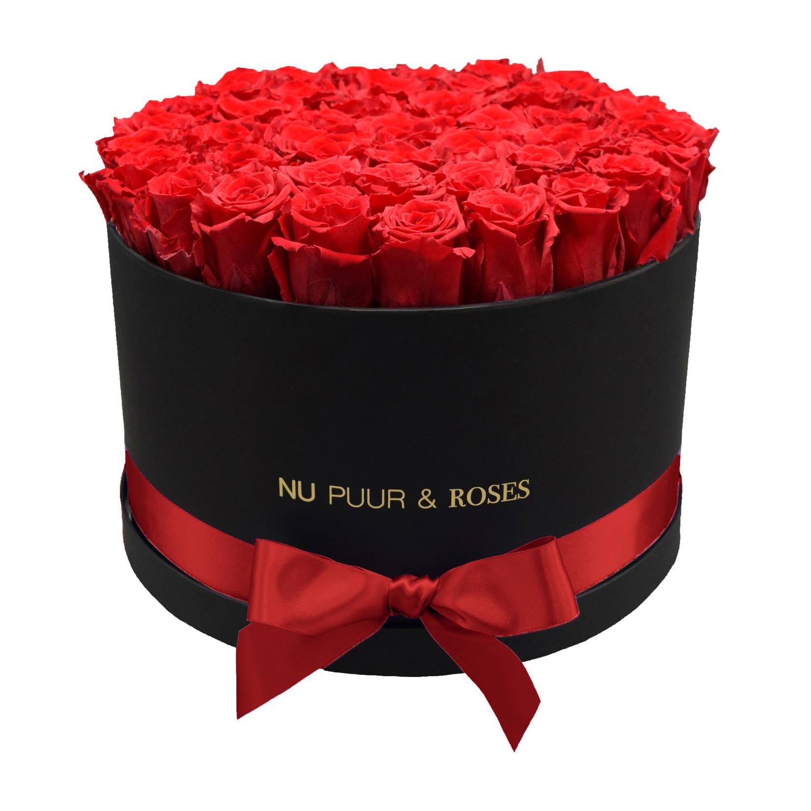 Extra Large - Roses Éternel Rouge - Boîte Noire