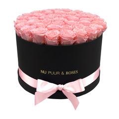 Extra Large - Roses Éternel Rose - Boîte Noire