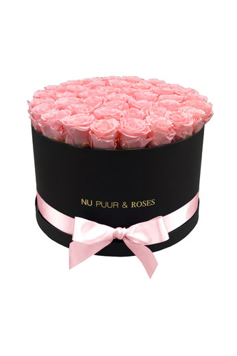 Extra Large - Pink Endless Roses - Black Box