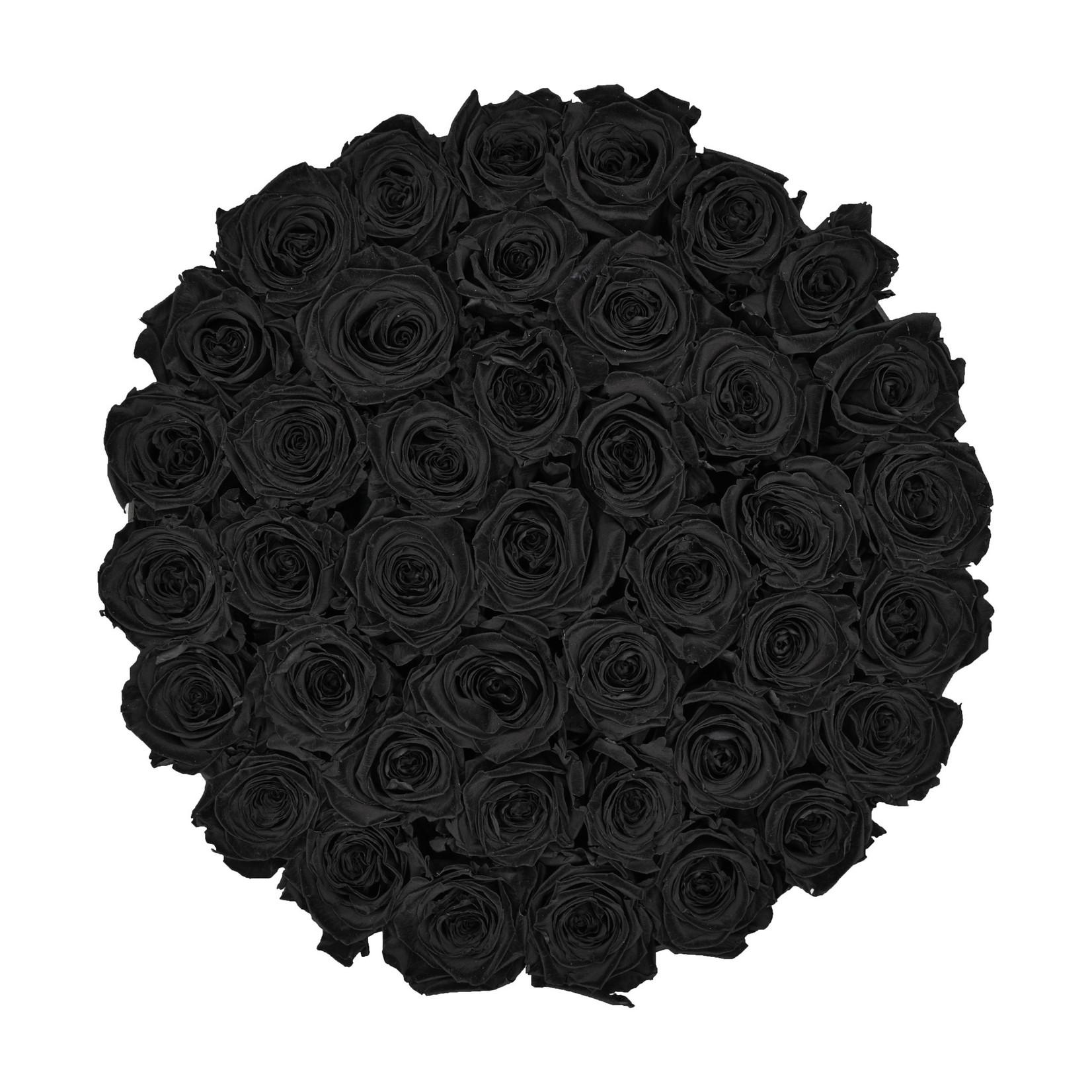 Extra Large - Black Endless Roses - Black Box