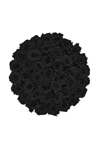 Extra Large - Roses Éternel Noir - Boîte Noire