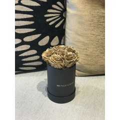 Mini - Gold Endless Roses - Black Box