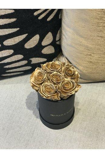 Mini - Gold Endless Roses - Black Box