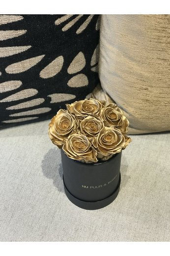 Mini - Roses Sans Fin Or - Boîte Noire