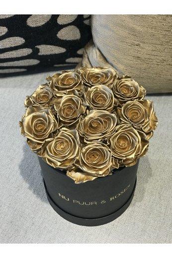 Small - Roses Sans Fin Or - Boîte Noire