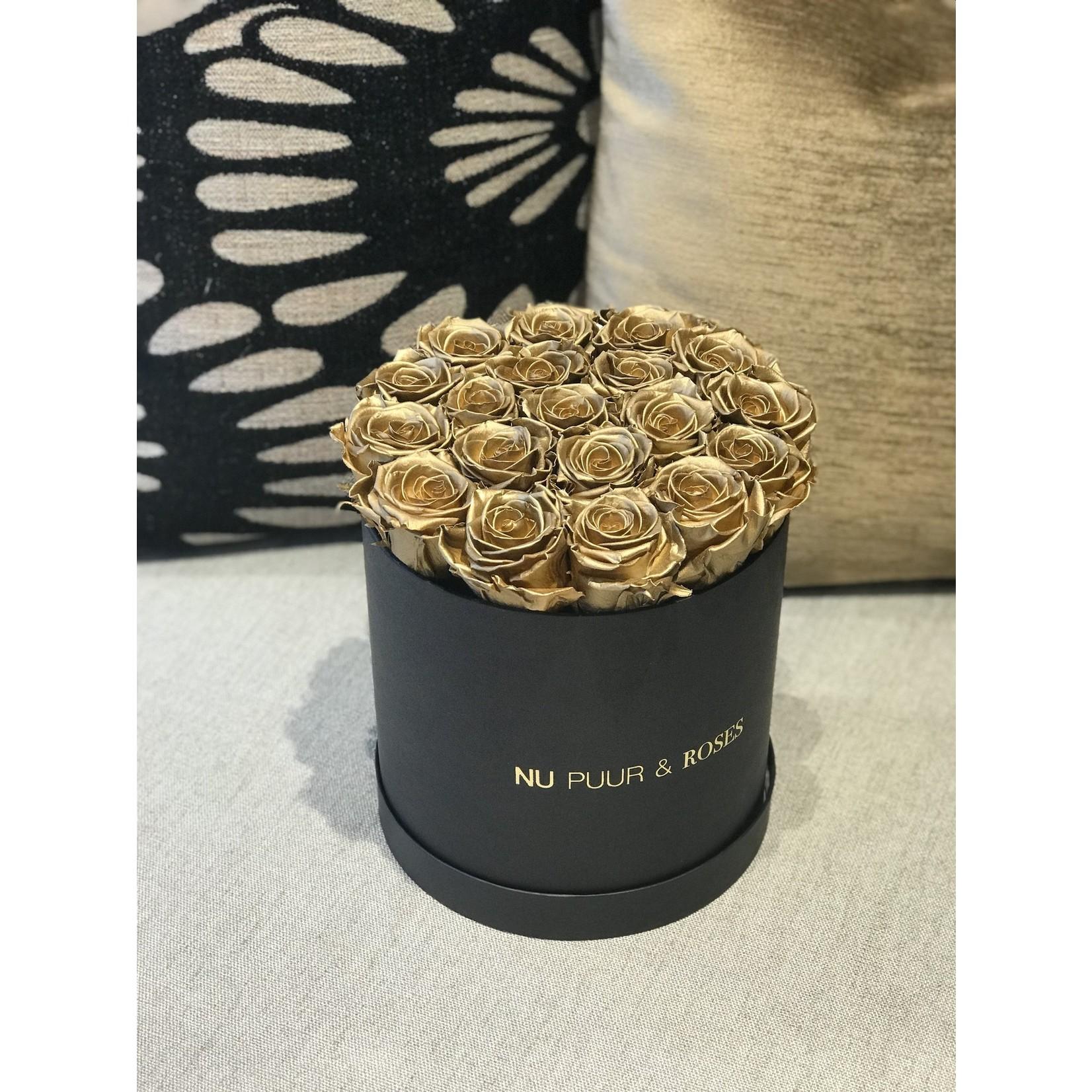 Medium - Roses Sans Fin Or - Boîte Noire