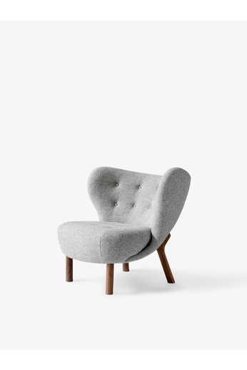 &Tradition Lounge Chair Little Petra VB1 | Oiled Walnut, Hallingdal