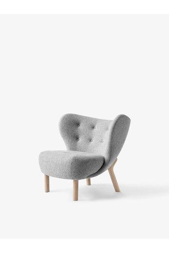 &Tradition Lounge Chair Little Petra VB1 | White Oiled Oak, Hallingdal