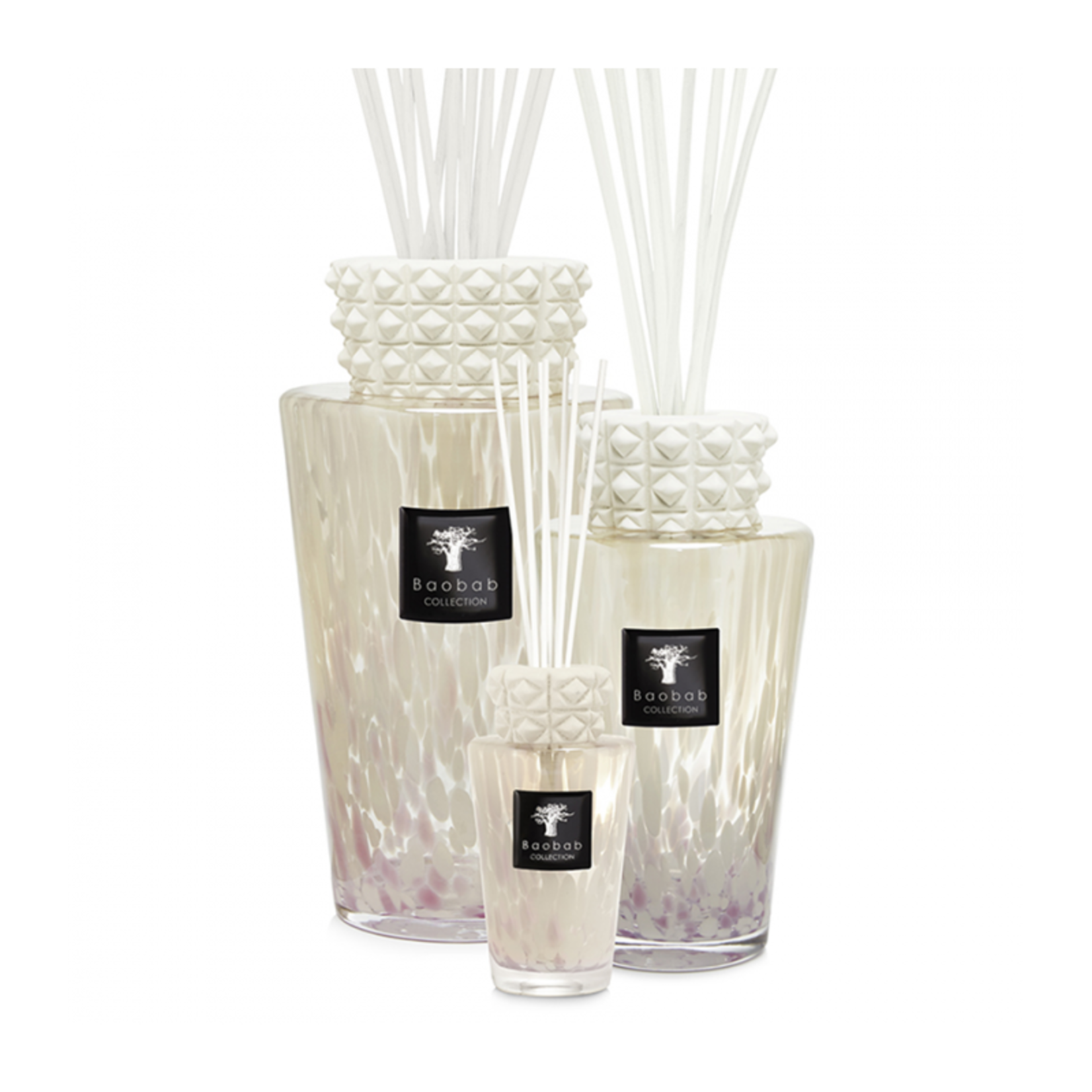 Baobab Collection Totem de perles blanches - 2L