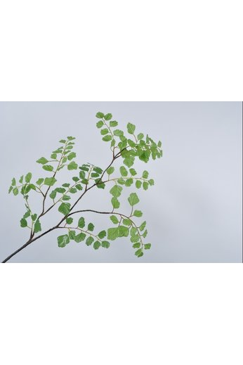 Silk-ka Branche de feuille verte 98 cm