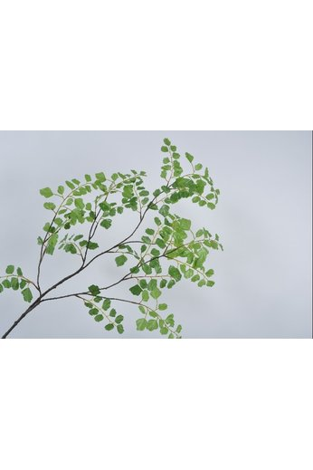 Silk-ka Branche de feuille verte 129 cm