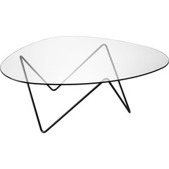 Pedrera Coffee Table | Black Semi Matt