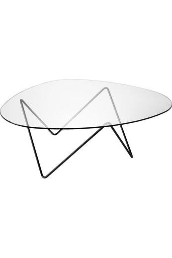 Table basse Pedrera | Noir semi mat