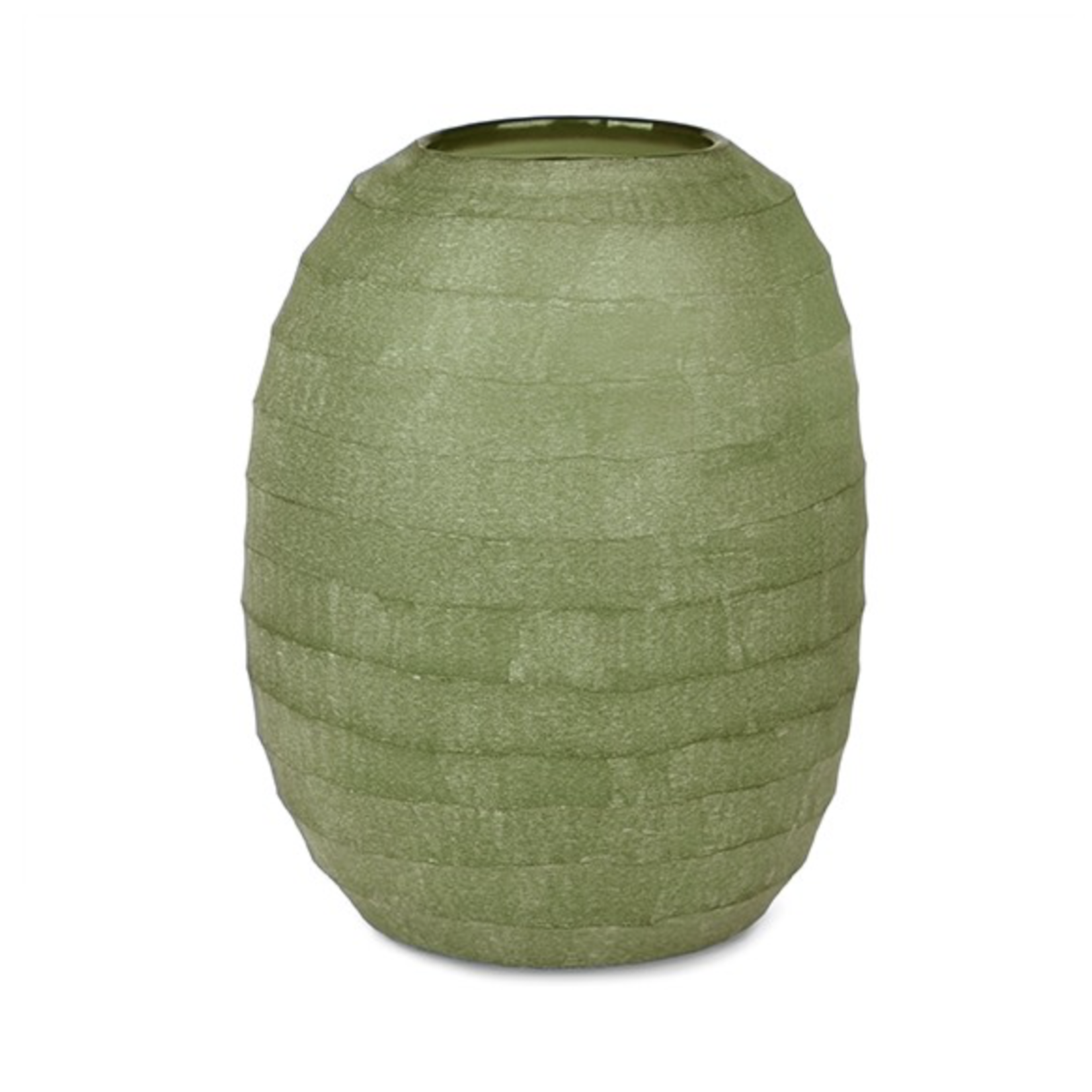 Guaxs Vase Belly XL | Vert olive