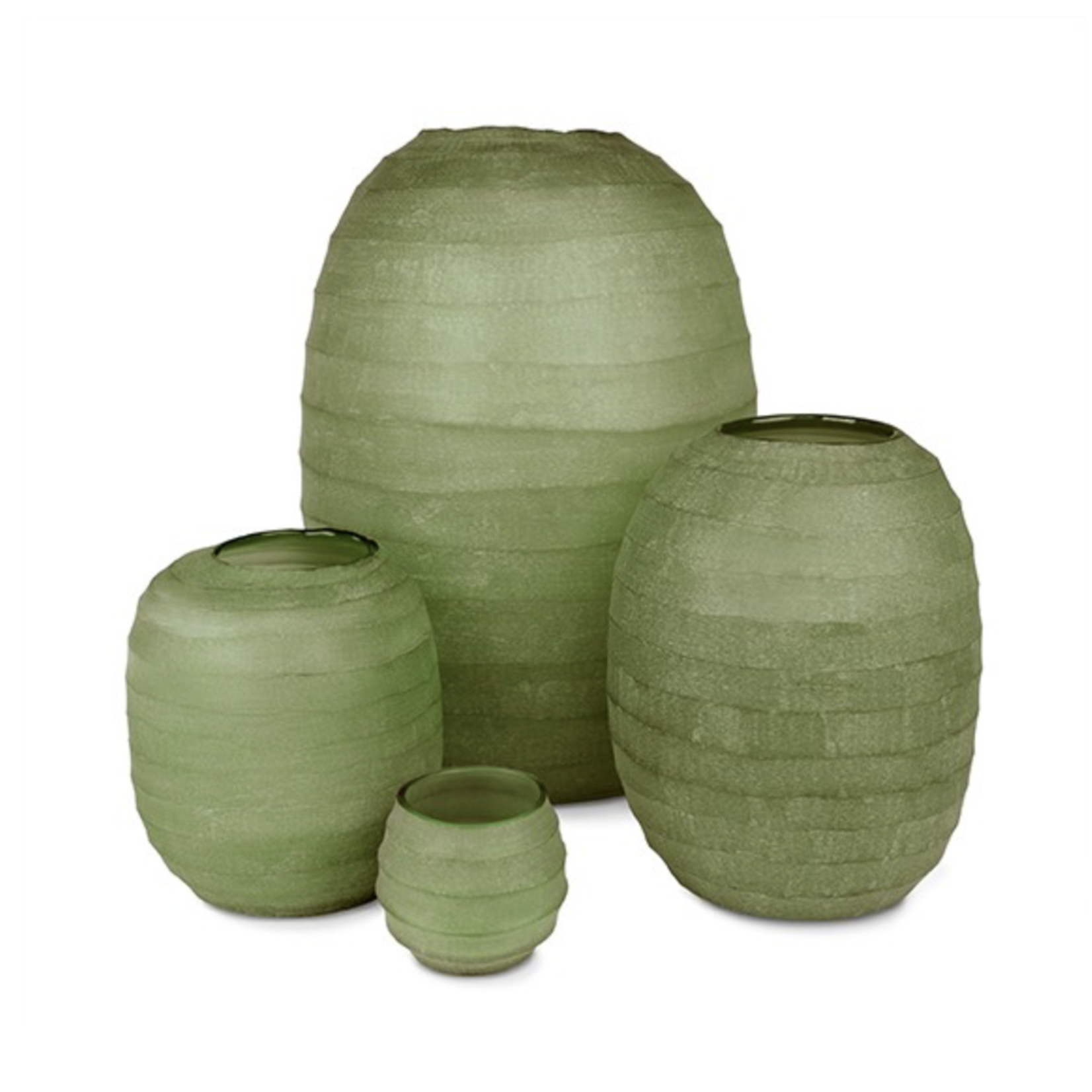 Guaxs Vase Belly XL   Olive Green