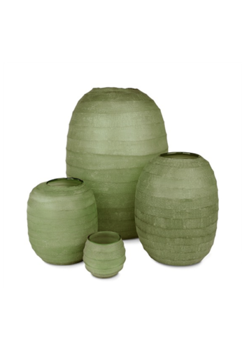 Guaxs Vase Belly XL | Olive Green