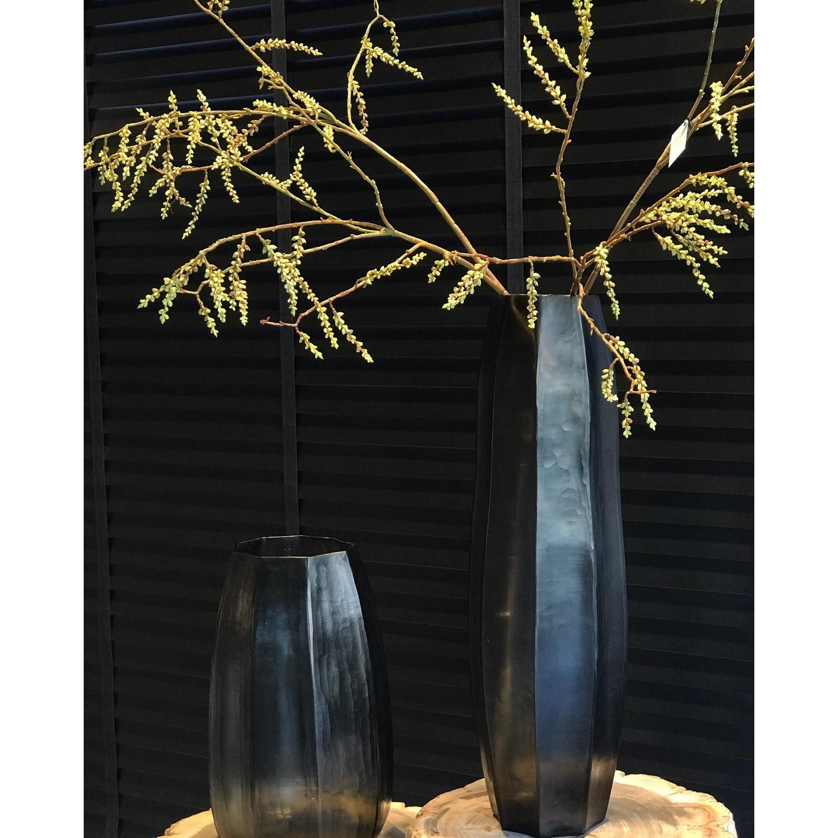 Guaxs Vase Koonam Tall   Indigo / Smoke Gray