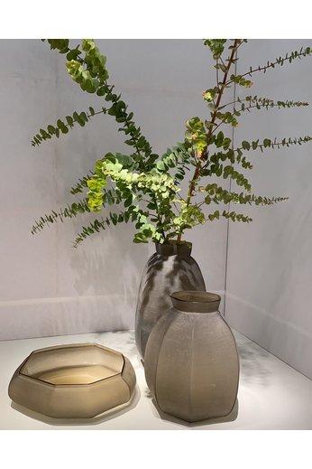 Guaxs Vase Karakol Round | Smokegrey