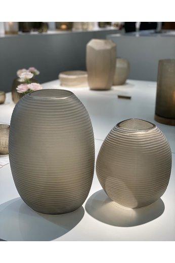 Guaxs Vase Patara rond | Smokegrey