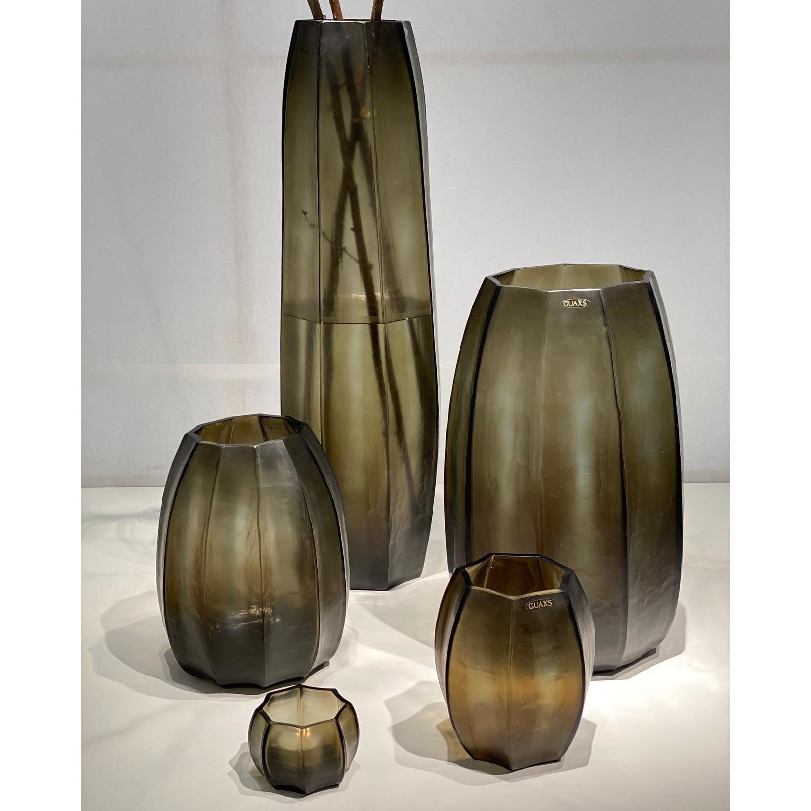 Guaxs Vase Koonam S   Indigo / Smoke Gray