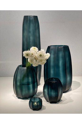 Guaxs Vase Koonam S | Ocean Blue / Indigo - (Per 2)
