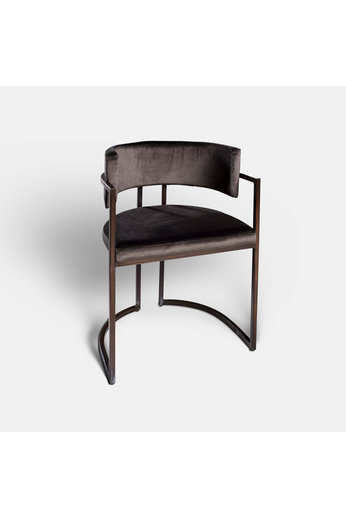 Rapture Ray Dining Chair Patine Bronze | Prix du coton