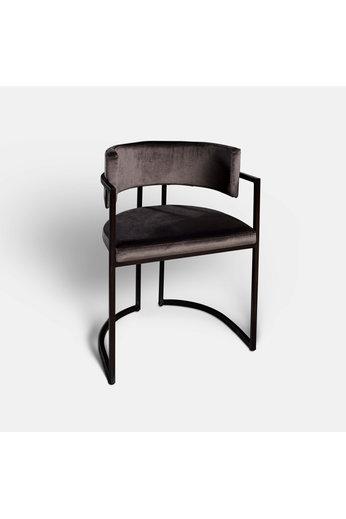 Rapture Ray Dining Chair Noir Mat   Prix du coton