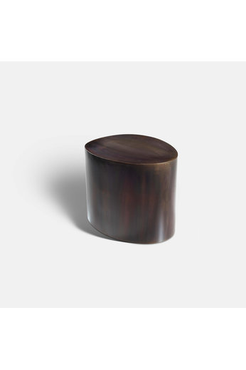 Rapture Campbell Side Table | Bronze Patina