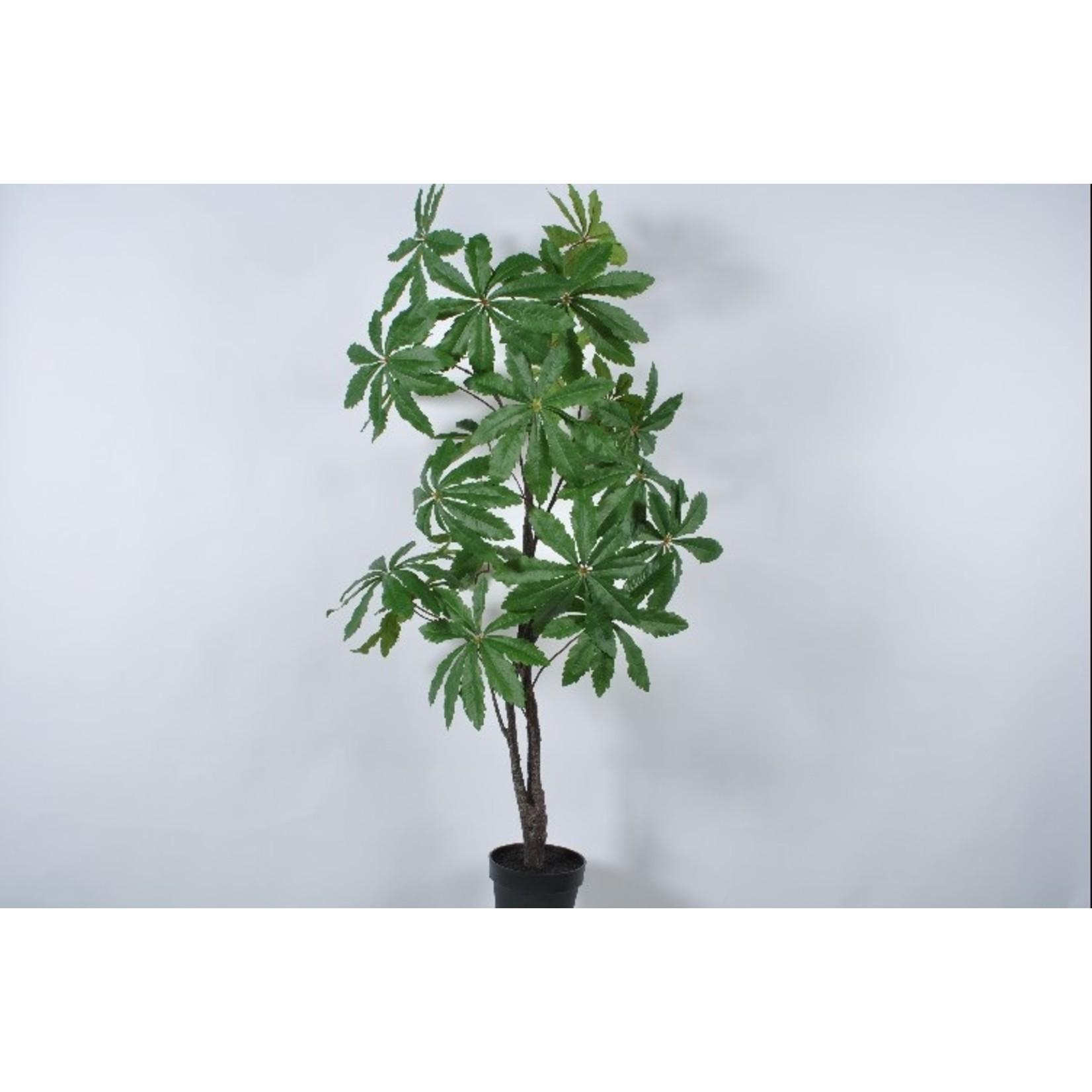 Silk-ka Boom Groen   153 cm