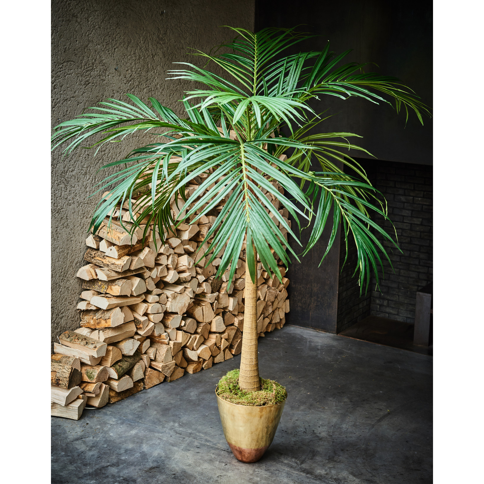 Silk-ka Palm Green   190 cm