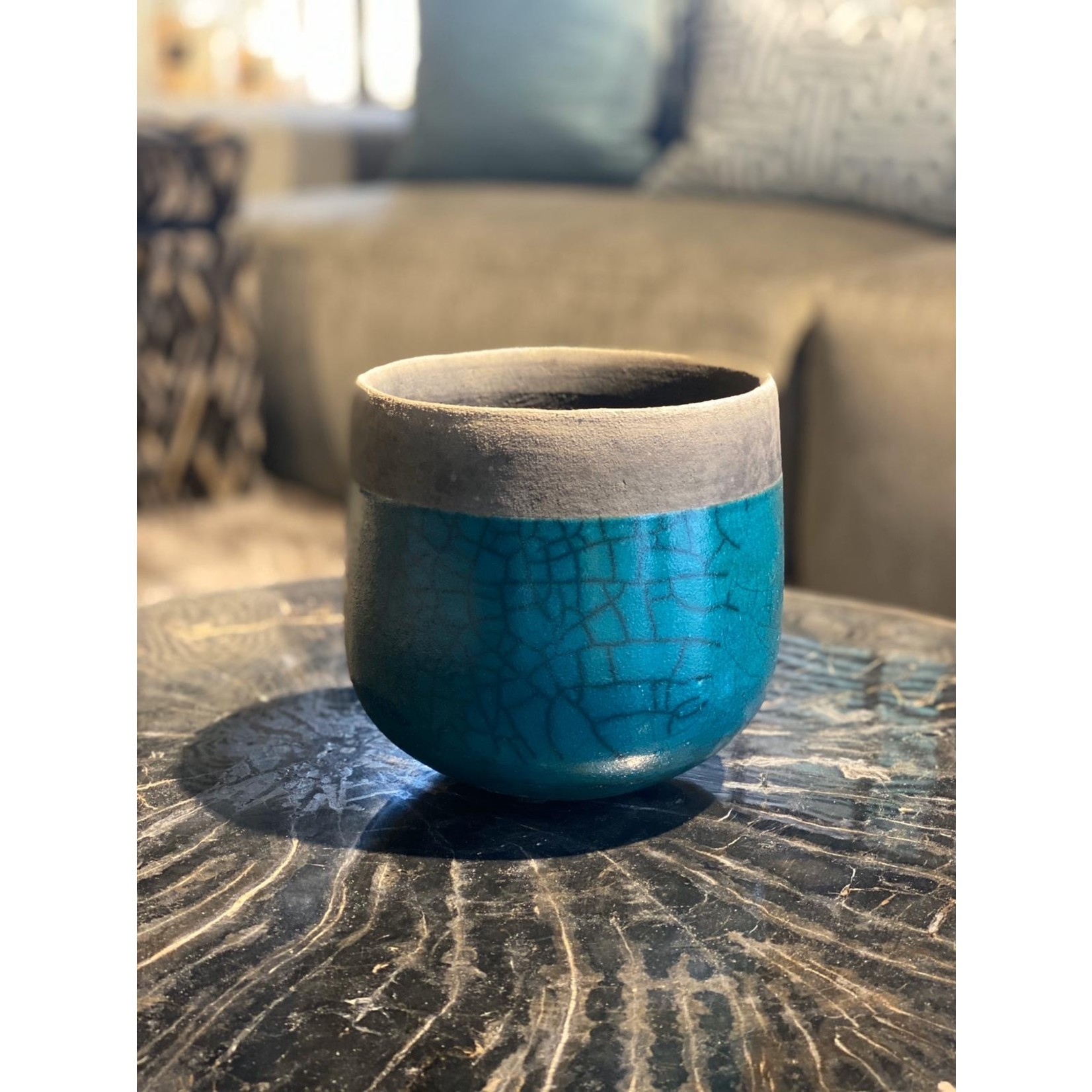 Domani MINSK | Turquoise métallisé S