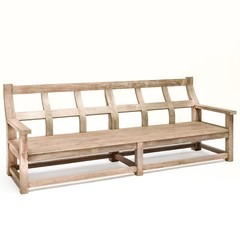 Gommaire Bench Gustave   Reclaimed Teak Natural Gray