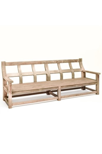 Gommaire Bench Gustave Large | Reclaimed Teak Natural Grey