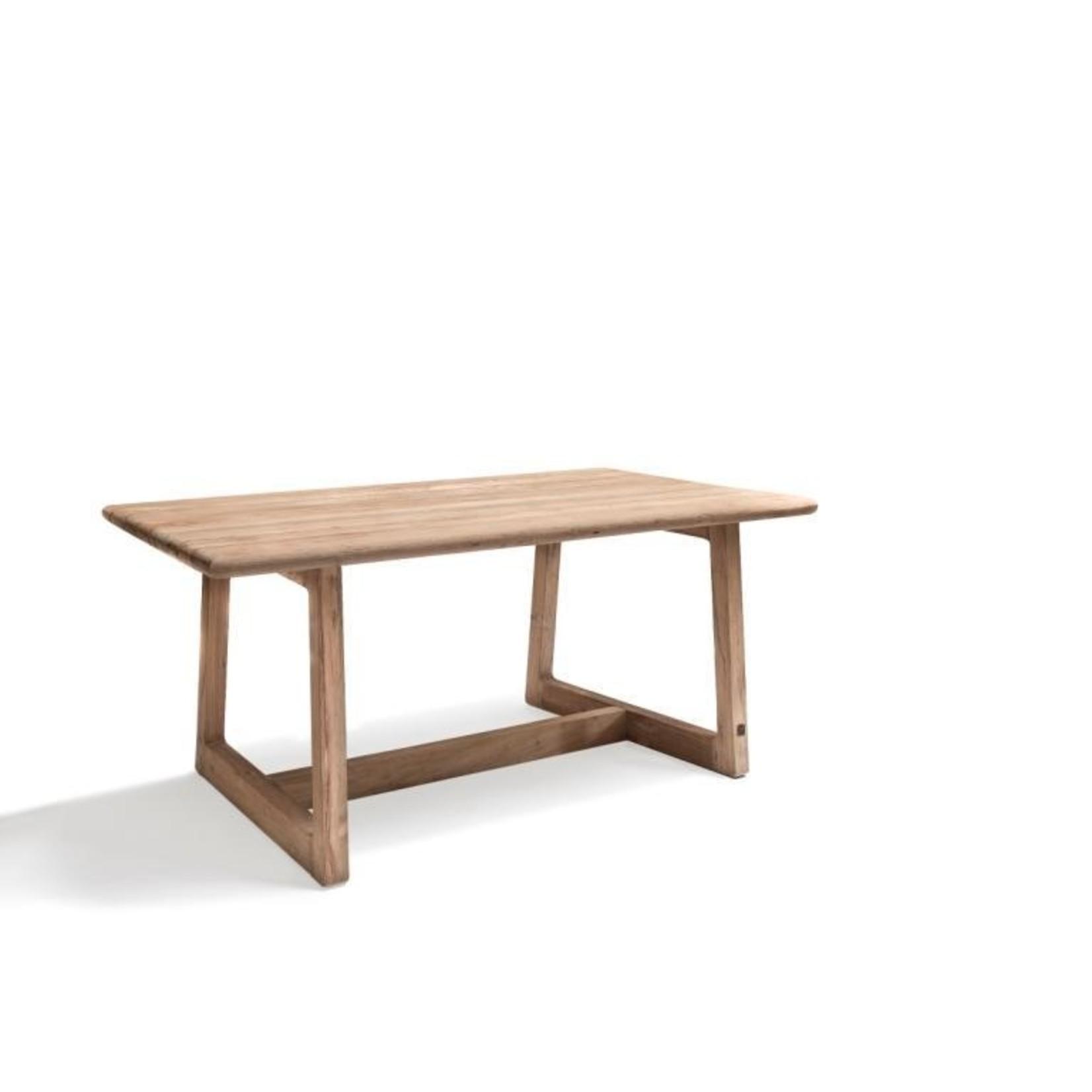 Gommaire Rectangular Table Dennis Small   Reclaimed Teak Natural Gray