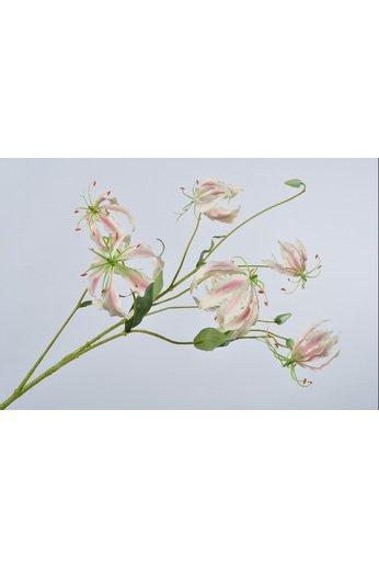 Silk-ka Gloriosa Branch Pink / White | 110 cm