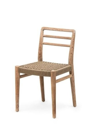 Gommaire Chair Jared | Teak Natural Gray & PE Wicker Antique Weed