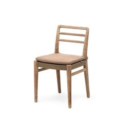 Gommaire Chair Jared | Teak Natural Grey & PE Wicker Antique Weed