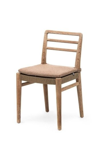 Gommaire Chair Jared   Teak Natural Grey & PE Wicker Antique Weed
