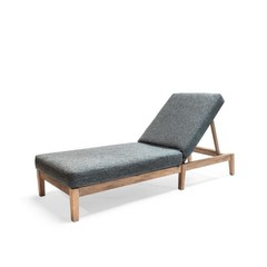 Gommaire Sunny Bed Copenhague | Reclaimed Teak Natural Gray