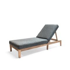 Gommaire Sunny Bed Copenhague   Teak récupéré gris naturel