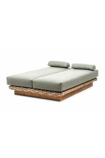 Gommaire Daybed Yasmin | CL Rattan + Cushion