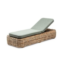 Gommaire Sunlounger Jones | CL Rattan + Cushion