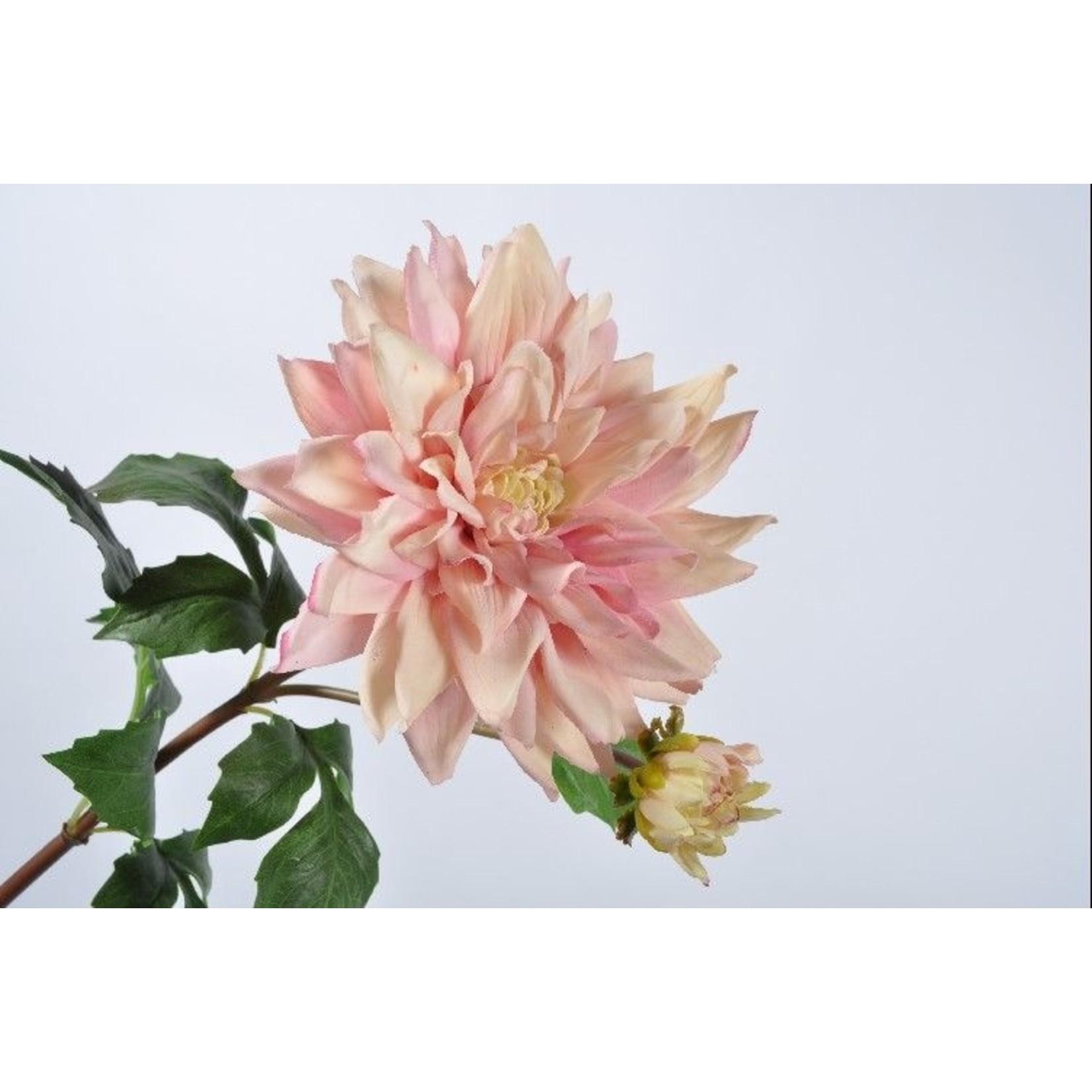 Silk-ka Dahlia tige rose clair   75 cm