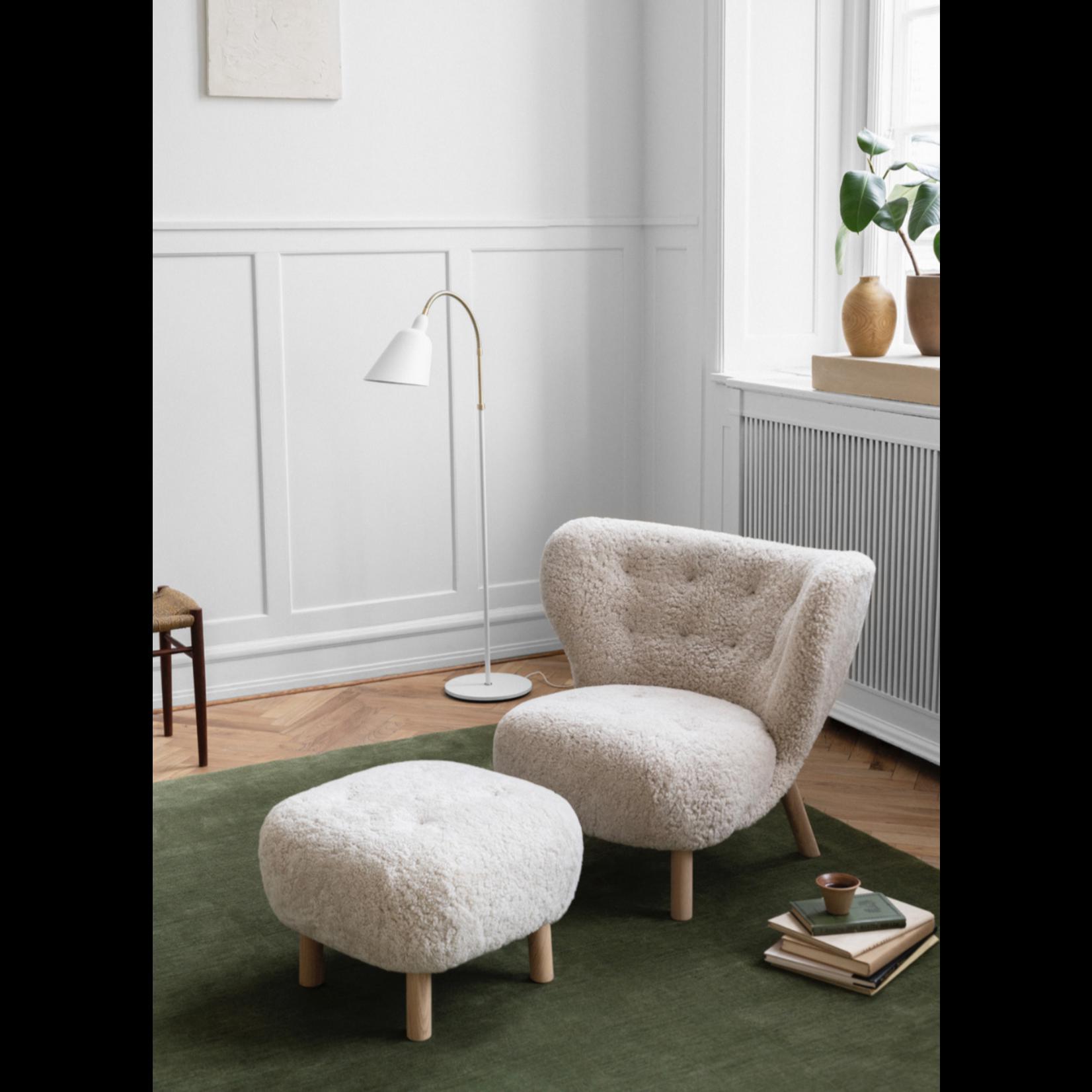 &Tradition Little Petra VB1 | Chêne huilé blanc w. Peau de mouton clair de lune