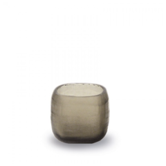 Guaxs Tealight holder Yava | Smokegrey