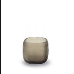 Guaxs Waxinelichthouder Yava | Smokegrey