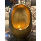 Egg Lantern Brass Antique