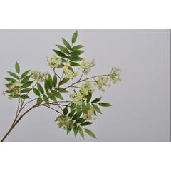 Silk-ka Branche de fleur verte | 110 cm
