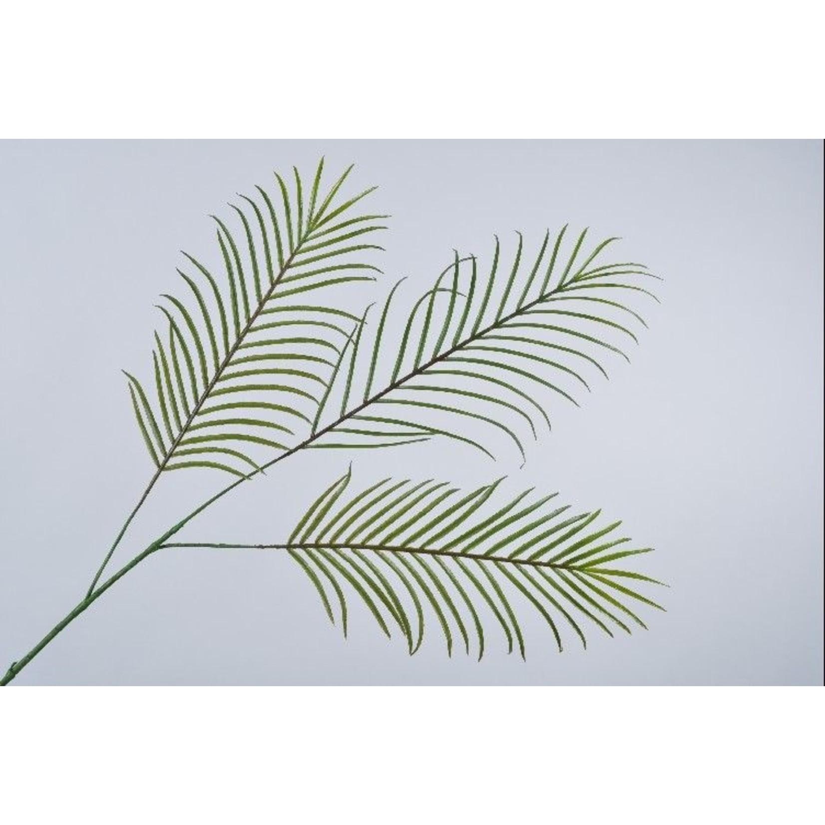 Silk-ka Leaf branch Palm Green | 112 cm
