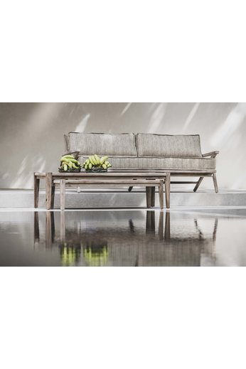Gommaire 2.5-Seater Alabama | Teak Natural Grey + Cushion